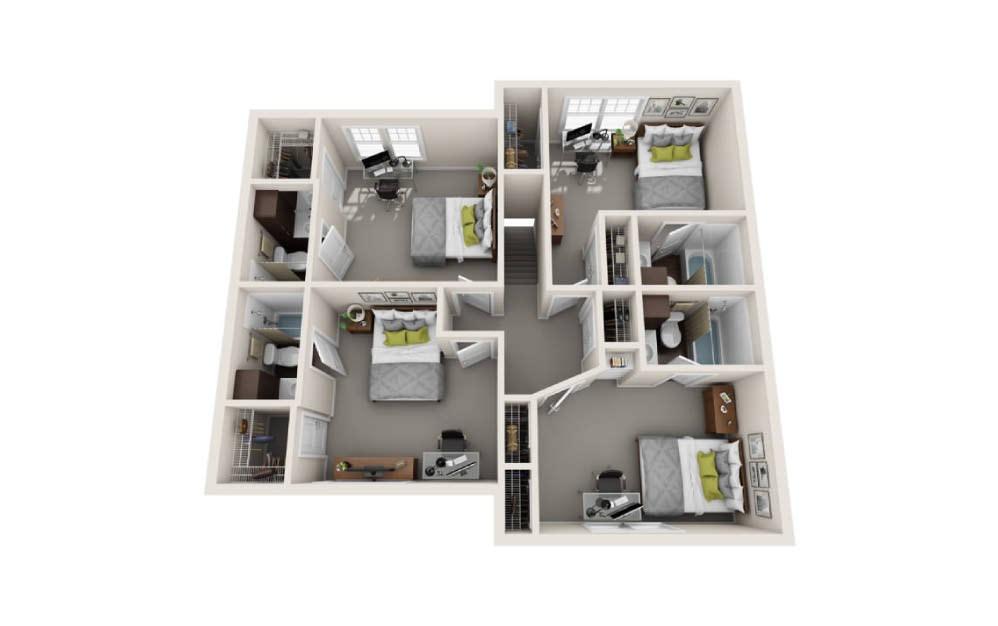 5 Bedroom Townhome